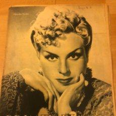Cine: REVISTA PRIMER PLANO FEBRERO 1943 MERCEDES VECINO.MARY CARRILLO.ANTONIO ROMAN.MARUJA TOMAS. Lote 185595000