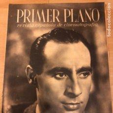 Cine: REVISTA PRIMER PLANO MAYO 1941 ALFREDO MAYO.CLARK GABLE PILAR SOLER.SOL DE VALENCIA. Lote 185598333