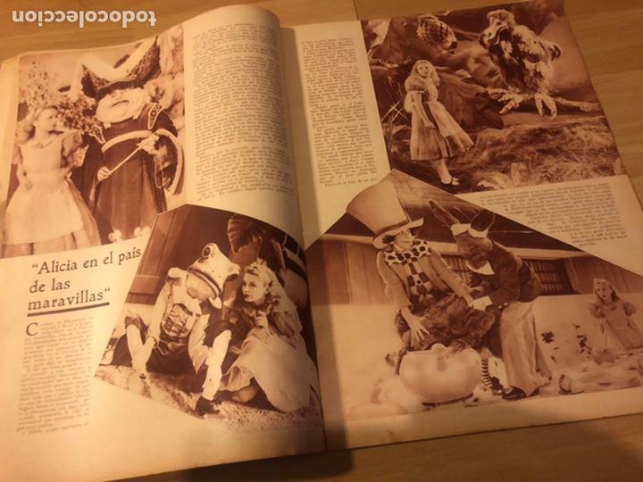 Cine: Revista popular film agosto 1934.jean harlow Joan blondell carole lombard Douglas fairbanks - Foto 4 - 185637437