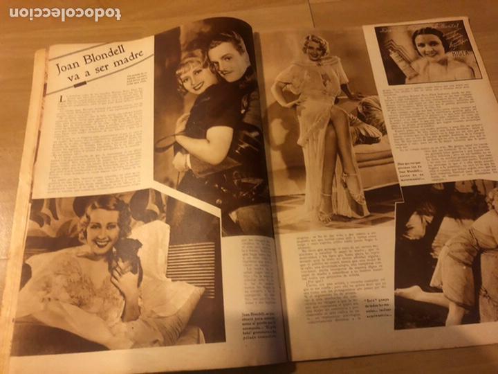 Cine: Revista popular film agosto 1934.jean harlow Joan blondell carole lombard Douglas fairbanks - Foto 5 - 185637437