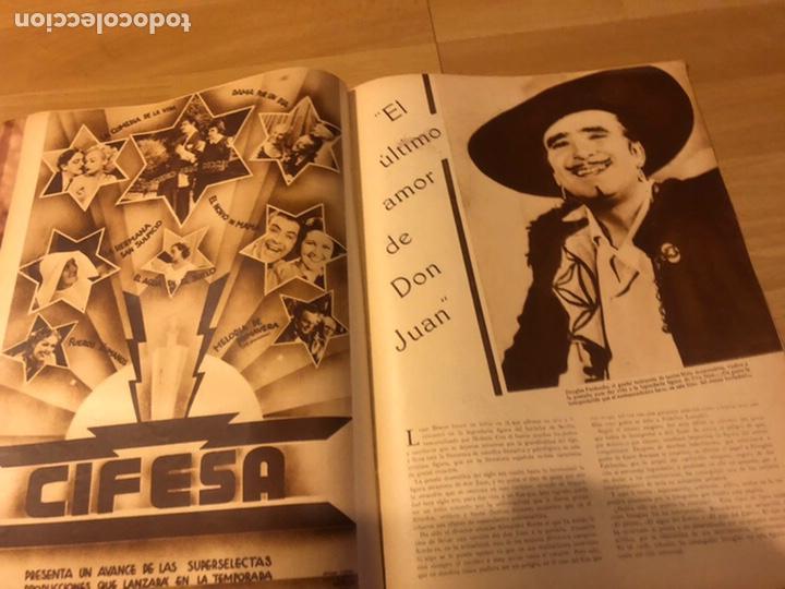 Cine: Revista popular film agosto 1934.jean harlow Joan blondell carole lombard Douglas fairbanks - Foto 8 - 185637437