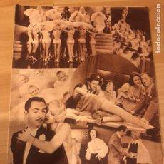 Cine: REVISTA POPULAR FILM AGOSTO 1934.JEAN HARLOW JOAB BLONDELL CAROLE LOMBARD DOUGLAS FAIRBANKS. Lote 185637437