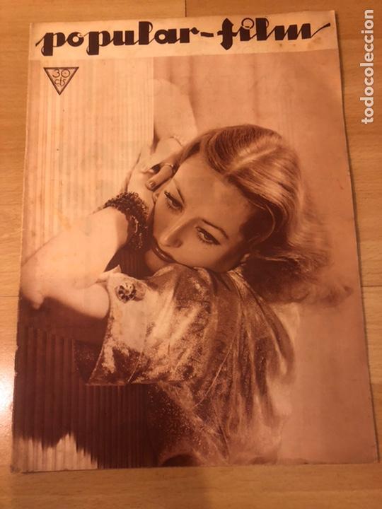 REVISTA POPULAR FILMS MAYO 1934 JOAN CRAWFORD MAE WEST GARY GRANT (Cine - Revistas - Popular film)