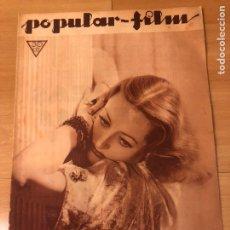Cine: REVISTA POPULAR FILMS MAYO 1934 JOAN CRAWFORD MAE WEST GARY GRANT. Lote 185641772