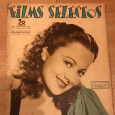 Cine: REVISTA FILMS SELECTOS MAYO 1936 OLIVIA DE HAVILLAND.CLARK GABLE JOAN CRAWFORD ERROL FLYNN. Lote 185646772