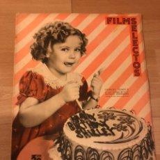 Cine: REVISTA FILMS SELECTOS MAYO 1936 SHIRLEY TEMPLE RONALD COLMAN IRENE DUNNE. Lote 185655173