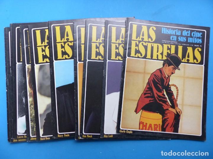 LAS ESTRELLAS, HISTORIA DEL CINE EN SUS MITOS - 15 REVISTAS, VER FOTOS ADICIONALES (Cine - Revistas - Otros)