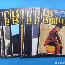 Cine: LAS ESTRELLAS, HISTORIA DEL CINE EN SUS MITOS - 15 REVISTAS, VER FOTOS ADICIONALES. Lote 185692486