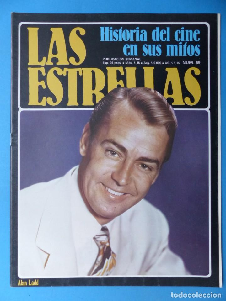 Cine: LAS ESTRELLAS, HISTORIA DEL CINE EN SUS MITOS - 15 REVISTAS, VER FOTOS ADICIONALES - Foto 3 - 185692486