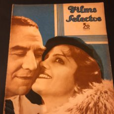 Cine: REVISTA FILMS SELECTOS ABRIL 1935 GEORGES MILTON.GARY COOPER.GLORIA SWANSON.GINGER ROGERS. Lote 185738206