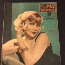 Cine: REVISTA FILMS SELECTOS ENERO 1936.ANN SOTHERN.IMPERIO ARGENTINA POMPEYA.RITA CANSINO HAYWORTH. Lote 185740601