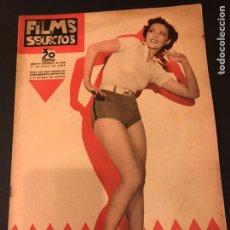 Cine: REVISTA FILMS SELECTOS MAYO 1935 ALICE JANS.RUMBA GEORGE RAFT.MARION DAVIES. Lote 185740952