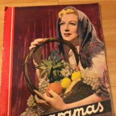 Cine: REVISTA CINEGRAMAS 12 DICIEMBRE 1934.KAY FRANCIS JOAN CRAWFORD LOUISE BROOKS JOHN GILBERT. Lote 185747277
