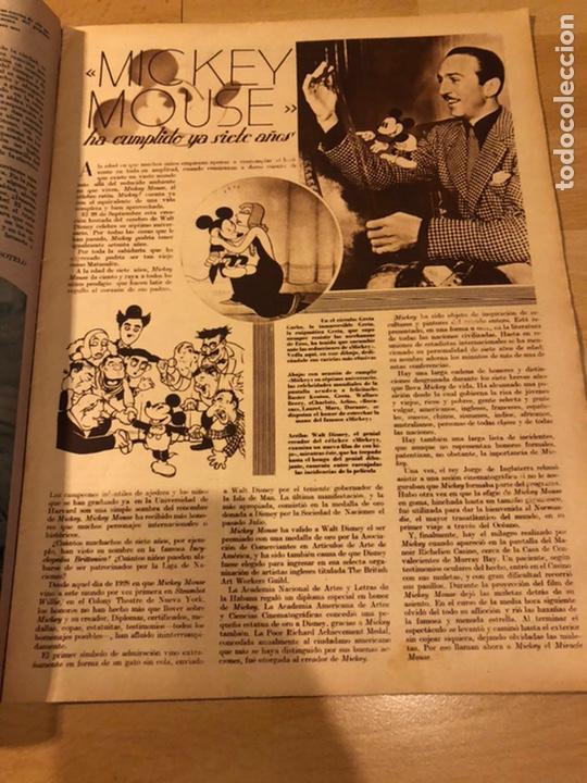 Cine: Revista cinegramas 54 septiembre 1935 carole lombard.mickey mouse.francés dee claudette colbert - Foto 2 - 185749730