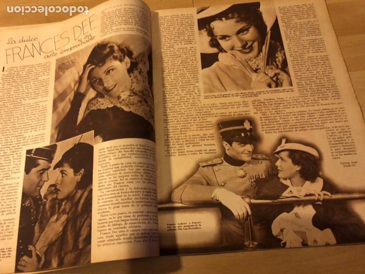 Cine: Revista cinegramas 54 septiembre 1935 carole lombard.mickey mouse.francés dee claudette colbert - Foto 3 - 185749730