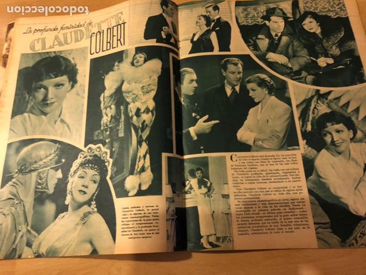Cine: Revista cinegramas 54 septiembre 1935 carole lombard.mickey mouse.francés dee claudette colbert - Foto 4 - 185749730