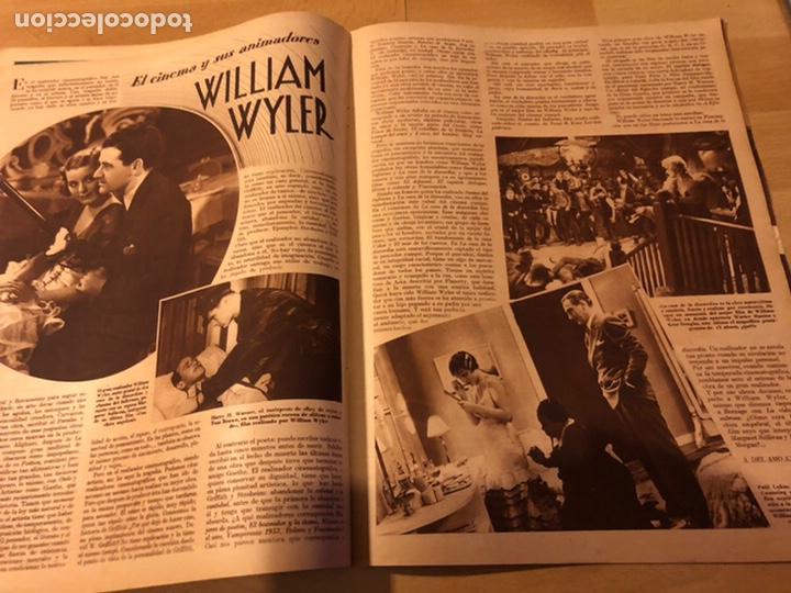 Cine: Revista cinegramas 54 septiembre 1935 carole lombard.mickey mouse.francés dee claudette colbert - Foto 6 - 185749730