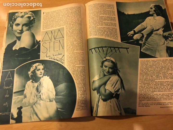 Cine: Revista cinegramas 54 septiembre 1935 carole lombard.mickey mouse.francés dee claudette colbert - Foto 7 - 185749730