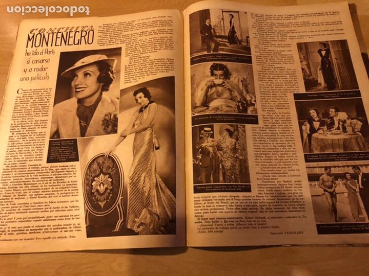 Cine: Revista cinegramas 54 septiembre 1935 carole lombard.mickey mouse.francés dee claudette colbert - Foto 9 - 185749730