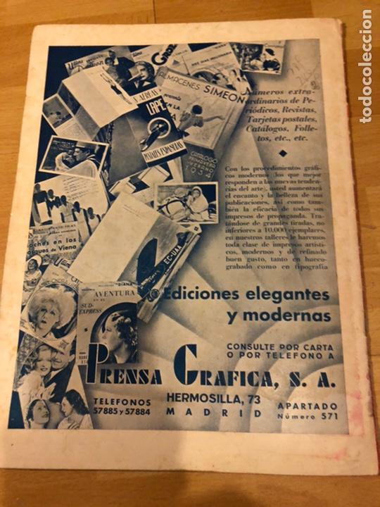Cine: Revista cinegramas 54 septiembre 1935 carole lombard.mickey mouse.francés dee claudette colbert - Foto 11 - 185749730
