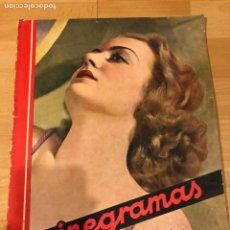 Cine: REVISTA CINEGRAMAS 54 SEPTIEMBRE 1935 CAROLE LOMBARD.MICKEY MOUSE.FRANCÉS DEE CLAUDETTE COLBERT. Lote 185749730