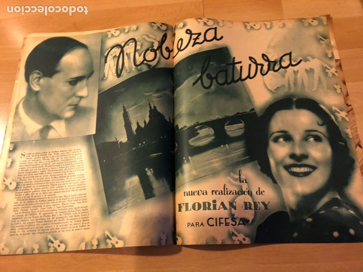 Cine: Revista cinegramas 44.julio 1935 elissa landi.nobleza baturra Imperio Argentina.benito perojo. - Foto 2 - 185750550