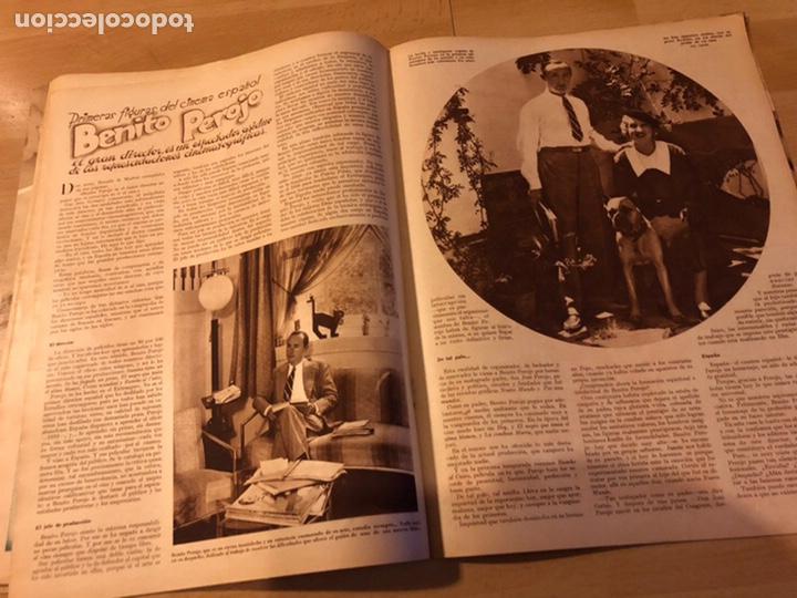 Cine: Revista cinegramas 44.julio 1935 elissa landi.nobleza baturra Imperio Argentina.benito perojo. - Foto 3 - 185750550
