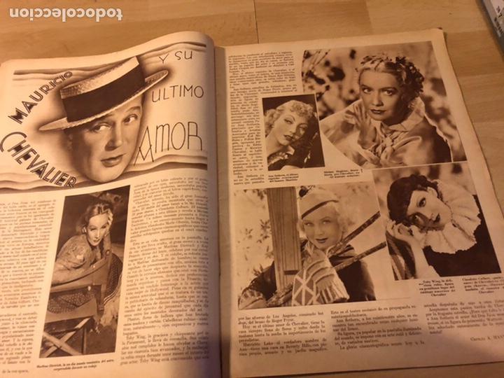 Cine: Revista cinegramas 44.julio 1935 elissa landi.nobleza baturra Imperio Argentina.benito perojo. - Foto 6 - 185750550