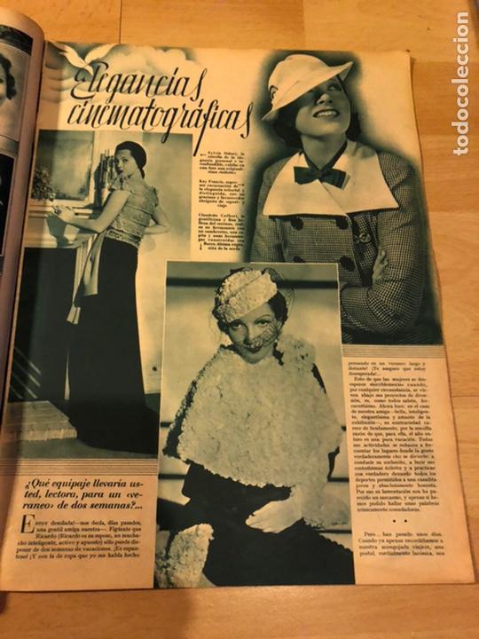 Cine: Revista cinegramas 44.julio 1935 elissa landi.nobleza baturra Imperio Argentina.benito perojo. - Foto 7 - 185750550