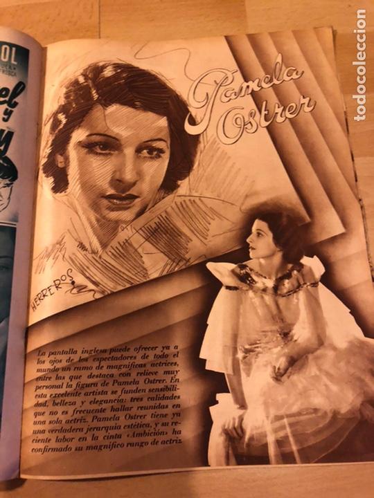 Cine: Revista cinegramas 44.julio 1935 elissa landi.nobleza baturra Imperio Argentina.benito perojo. - Foto 8 - 185750550
