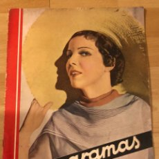 Cine: REVISTA CINEGRAMAS 44.JULIO 1935 ELISSA LANDI.NOBLEZA BATURRA IMPERIO ARGENTINA.BENITO PEROJO.. Lote 185750550