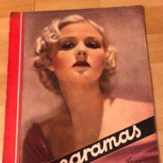 Cinéma: REVISTA CINEGRAMAS 60 NOVIEMBRE 1935 JEAN ROGERS.JOAN CRAWFORD MIGUEL LIGERO BUSTER KEATON. Lote 185750950