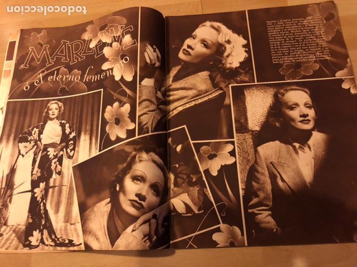 Cine: Revista cinegramas 69 enero 1936 danielle darrieux.marlene Dietrich greta garbo.la verbena de paloma - Foto 2 - 185751142