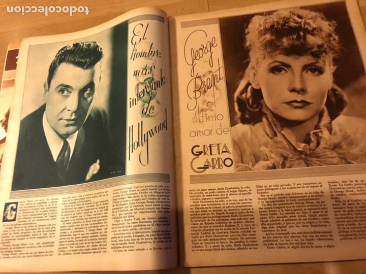 Cine: Revista cinegramas 69 enero 1936 danielle darrieux.marlene Dietrich greta garbo.la verbena de paloma - Foto 3 - 185751142