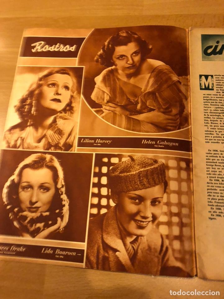 Cine: Revista cinegramas 69 enero 1936 danielle darrieux.marlene Dietrich greta garbo.la verbena de paloma - Foto 4 - 185751142