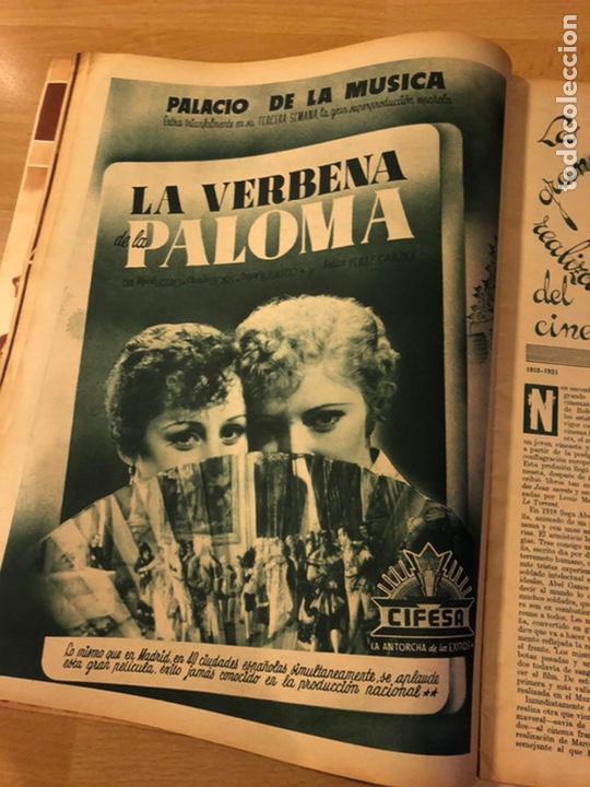 Cine: Revista cinegramas 69 enero 1936 danielle darrieux.marlene Dietrich greta garbo.la verbena de paloma - Foto 5 - 185751142