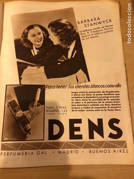 Cine: Revista cinegramas 17 enero 1935.loretta young.barbara stanwyck - Foto 2 - 185751368