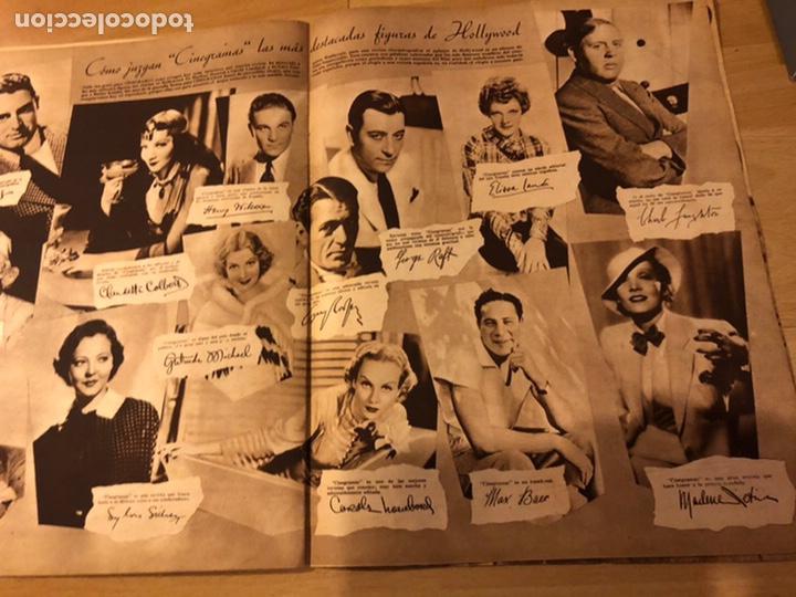 Cine: Revista cinegramas 17 enero 1935.loretta young.barbara stanwyck - Foto 3 - 185751368