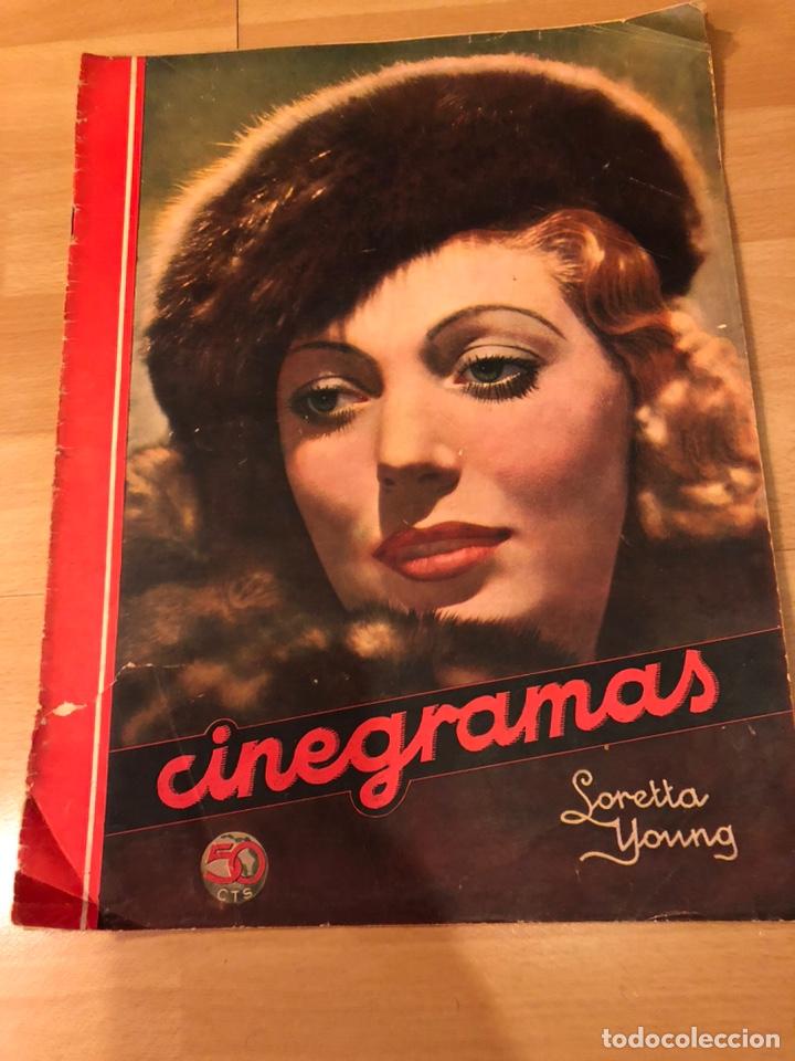 REVISTA CINEGRAMAS 17 ENERO 1935.LORETTA YOUNG.BARBARA STANWYCK (Cine - Revistas - Cinegramas)