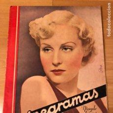Cinéma: REVISTA CINEGRAMAS 67 DICIEMBRE 1935 MADGE EVANS.GRETA GARBO JOAN CRAWFORD JAMES WHALE TOBY WING. Lote 185751967