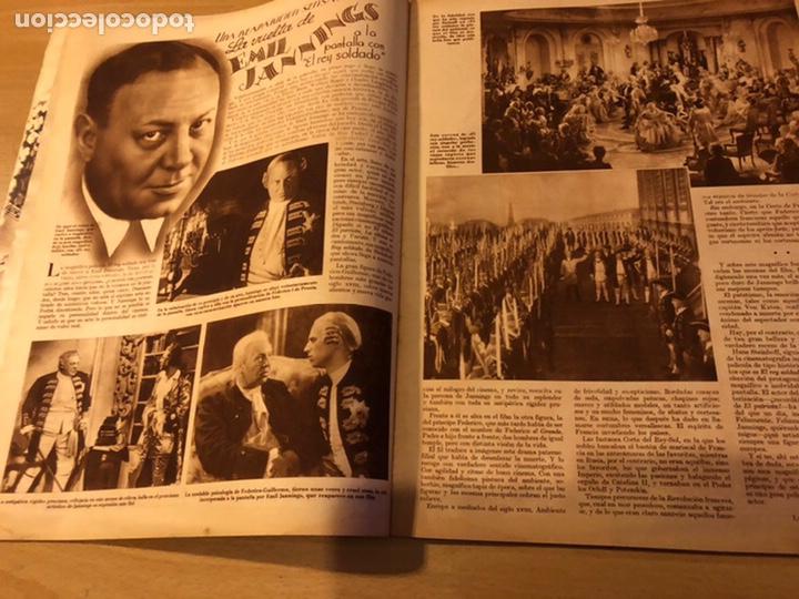 Cine: Revista cinegramas 59 octubre 1935 Joan Bennett emil jannings claudette colbert buster keaton - Foto 2 - 185752168