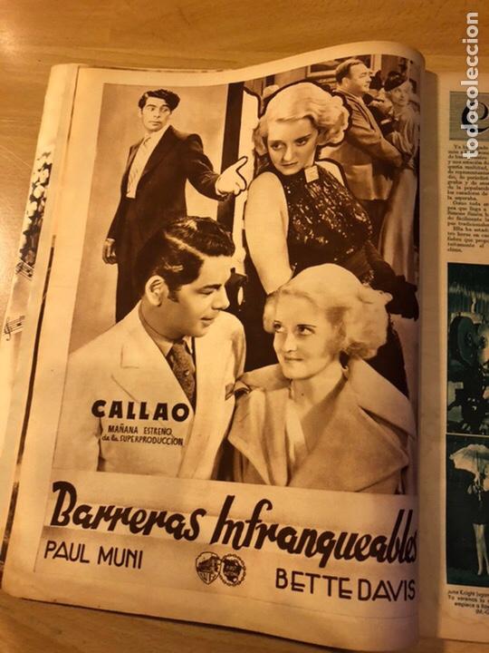 Cine: Revista cinegramas 59 octubre 1935 Joan Bennett emil jannings claudette colbert buster keaton - Foto 3 - 185752168