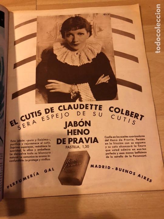 Cine: Revista cinegramas 59 octubre 1935 Joan Bennett emil jannings claudette colbert buster keaton - Foto 4 - 185752168