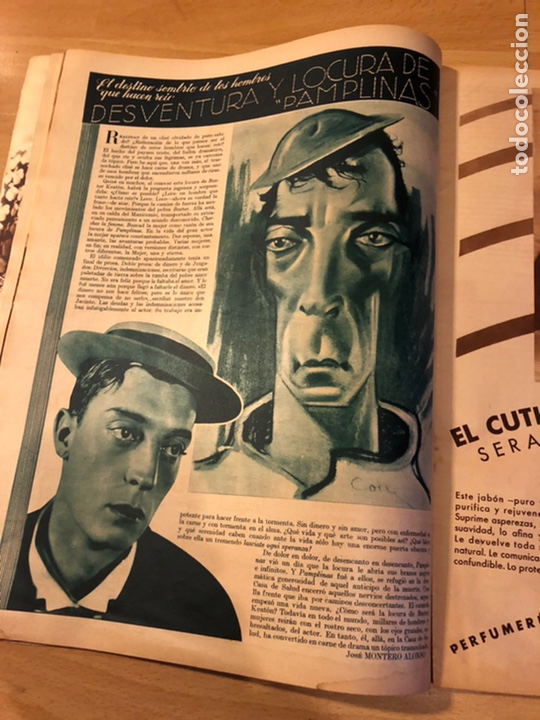 Cine: Revista cinegramas 59 octubre 1935 Joan Bennett emil jannings claudette colbert buster keaton - Foto 5 - 185752168