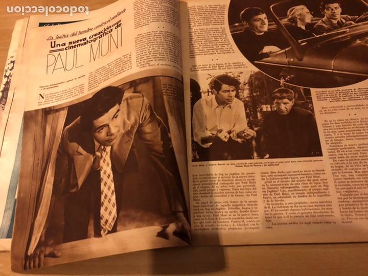 Cine: Revista cinegramas 59 octubre 1935 Joan Bennett emil jannings claudette colbert buster keaton - Foto 6 - 185752168