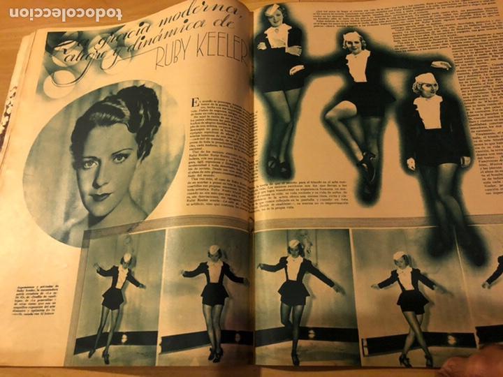 Cine: Revista cinegramas 59 octubre 1935 Joan Bennett emil jannings claudette colbert buster keaton - Foto 8 - 185752168