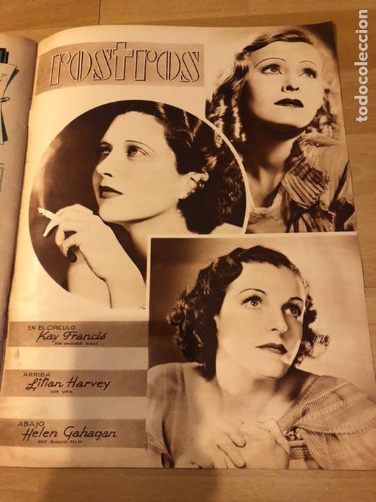 Cine: Revista cinegramas 59 octubre 1935 Joan Bennett emil jannings claudette colbert buster keaton - Foto 9 - 185752168