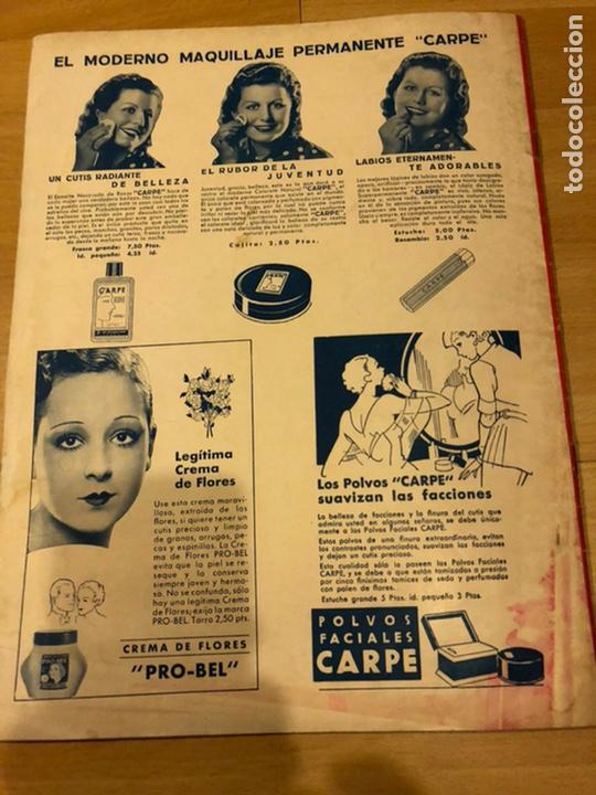 Cine: Revista cinegramas 59 octubre 1935 Joan Bennett emil jannings claudette colbert buster keaton - Foto 10 - 185752168