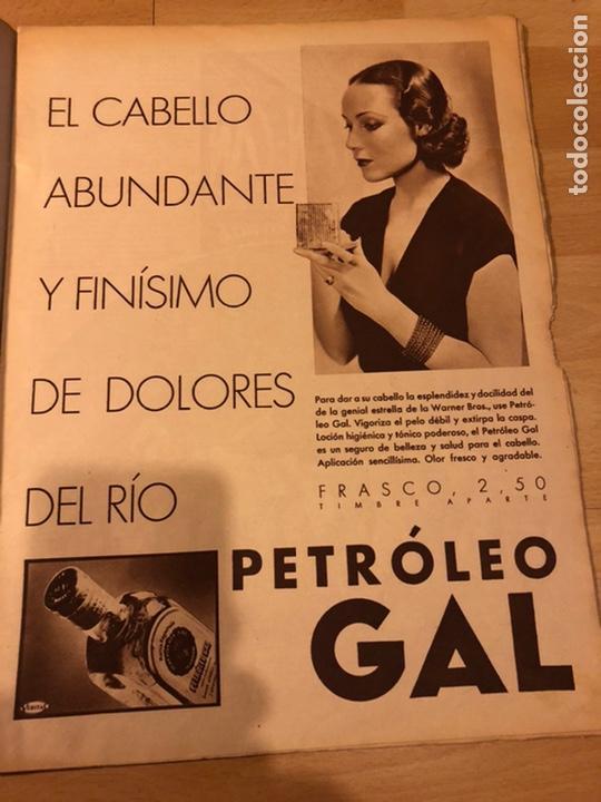 Cine: Revista cinegramas 56.octubre 1935 Betty grable.dolores Del Río.marlene Dietrich Imperio Argentina - Foto 2 - 185753753