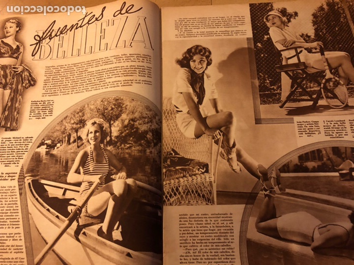 Cine: Revista cinegramas 56.octubre 1935 Betty grable.dolores Del Río.marlene Dietrich Imperio Argentina - Foto 3 - 185753753